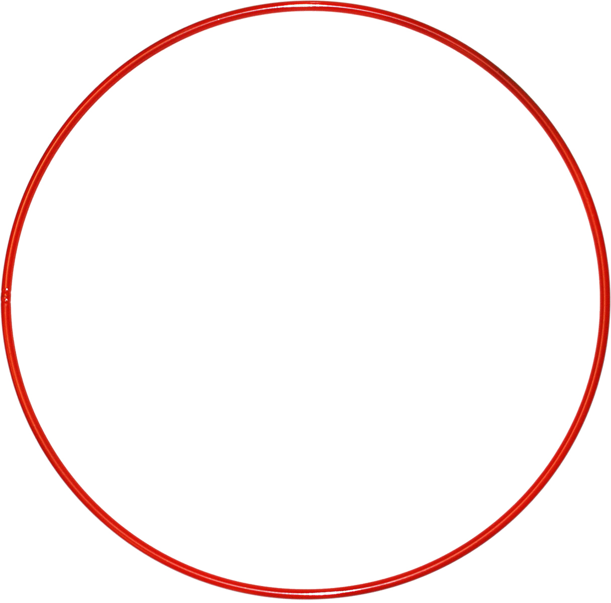 Затейники Обруч  цвет красный диаметр 80 см