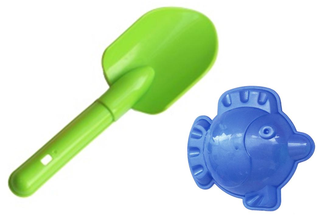 Игрушки Поволжья Набор для песочницы Формочка и совочек zebratoys формочка для песочницы собака