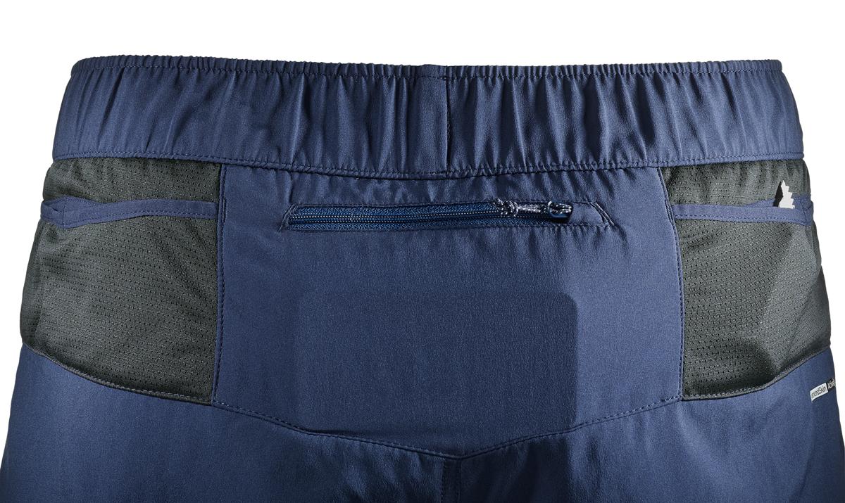 Мужские шорты Salomon прекрасно подойдут для тренировок. Модель прямого кроя на эластичном поясе с регулируемым шнурком, выполнена из полиэстера. По бокам изделие дополнено врезными карманами и сзади карманом для мелочей на молнии. Мужские шорты прекрасно подойдут для тренировок и повседневной носки.