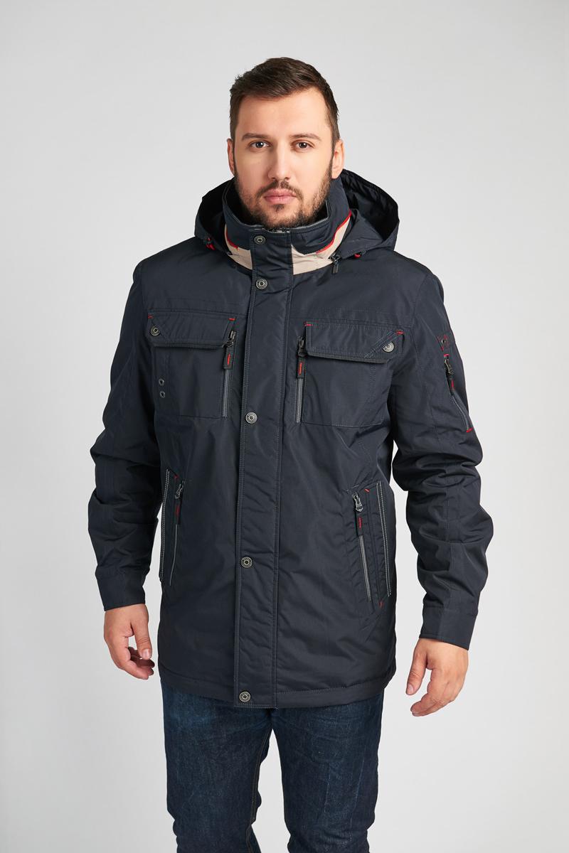 Куртка мужская Vizani, цвет: синий. 10597C_99. Размер 56 куртки vizani куртка