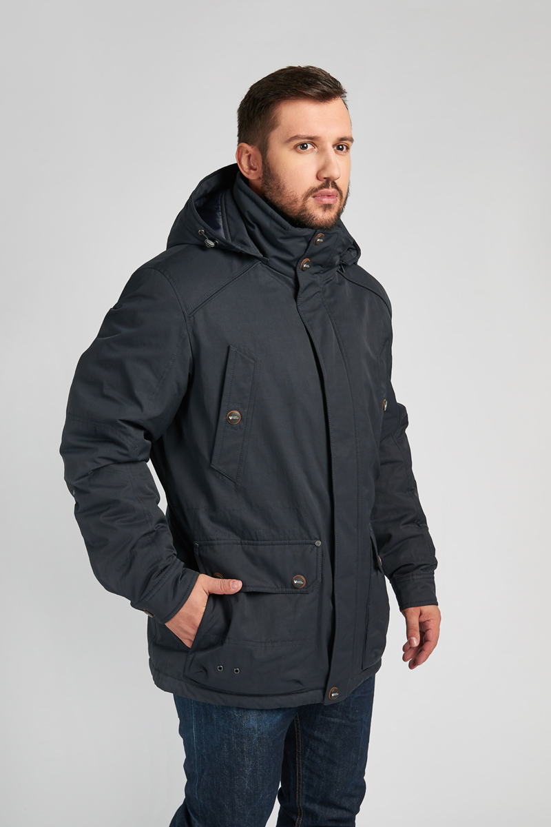 Куртка мужская Vizani, цвет: синий. 10600С_99. Размер 58 куртка мужская vizani цвет синий vtc18 1284 2 navy размер 54