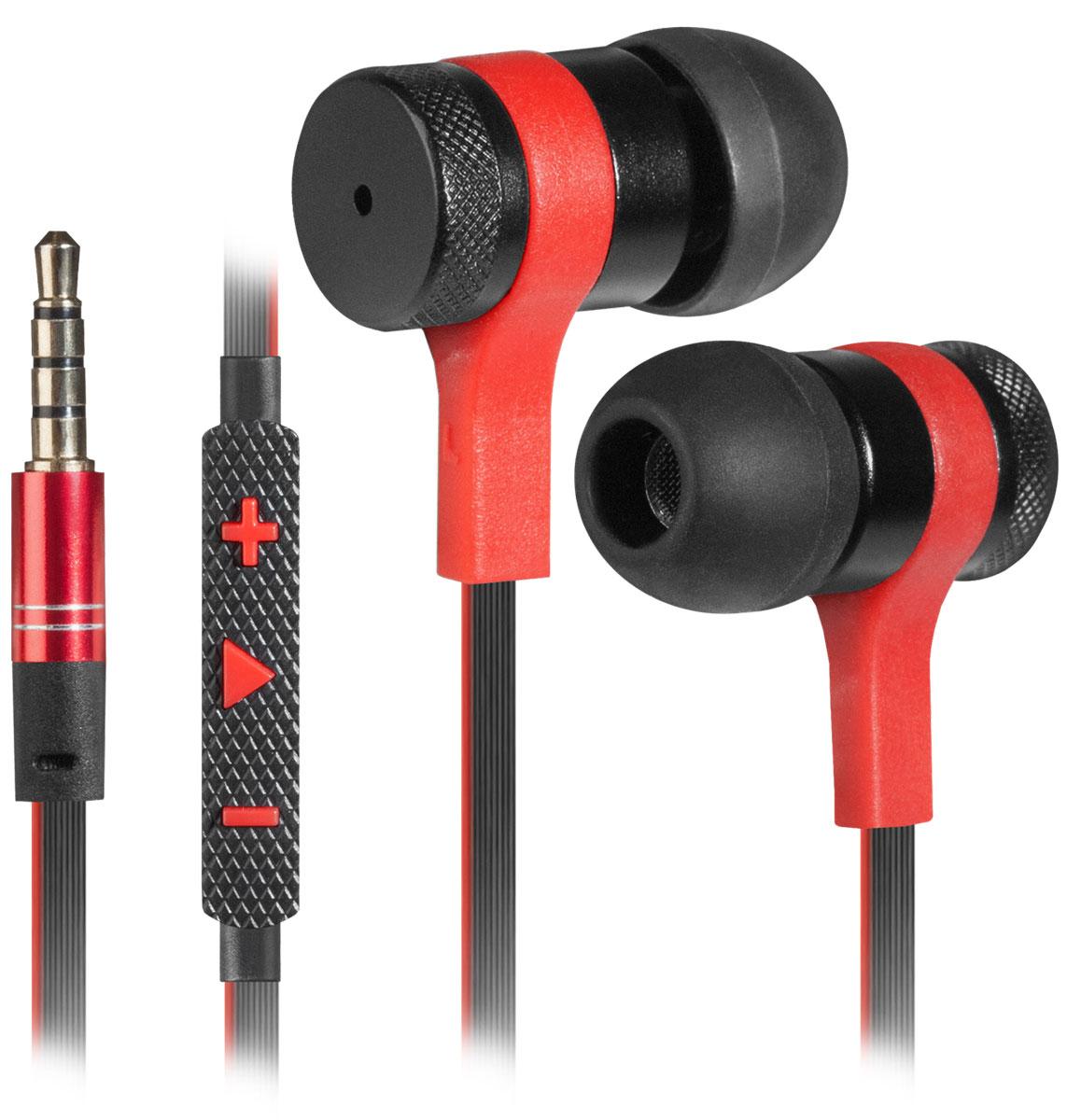 Redragon Tiana, Black Red гарнитура для смартфонов64432Redragon Tiana - игровая гарнитура с плоским кабелем и универсальным регулятором громкости в металлическом корпусе.Это отличный выбор для повседневного использования, в том числе, в общественном транспорте, на улице и в шумных помещениях.Данная модель имеет универсальные кнопки регулировки громкости для Android и Apple устройств.Слушайте любимую музыку и аудиокниги в дороге - ничто не будет вам мешать.