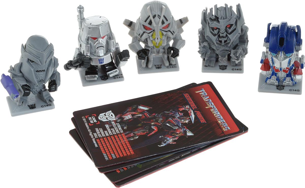 Zakazat.ru Transformers Набор коллекционных фигурок цвет синий серый 5 шт