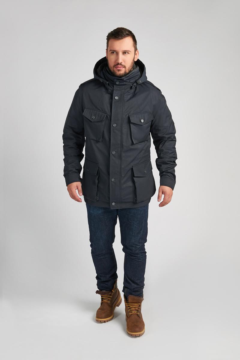 Куртка мужская Vizani, цвет: синий. 10606DW_99. Размер 58 куртка мужская vizani цвет синий vtc18 1284 2 navy размер 54