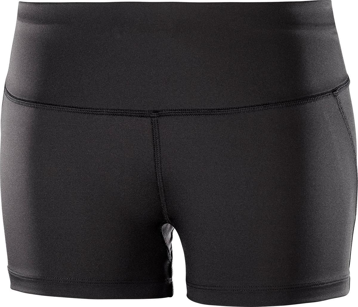Шорты женские Salomon Agile Short Tight W, цвет: черный. L40127200. Размер XS (40/42)L40127200