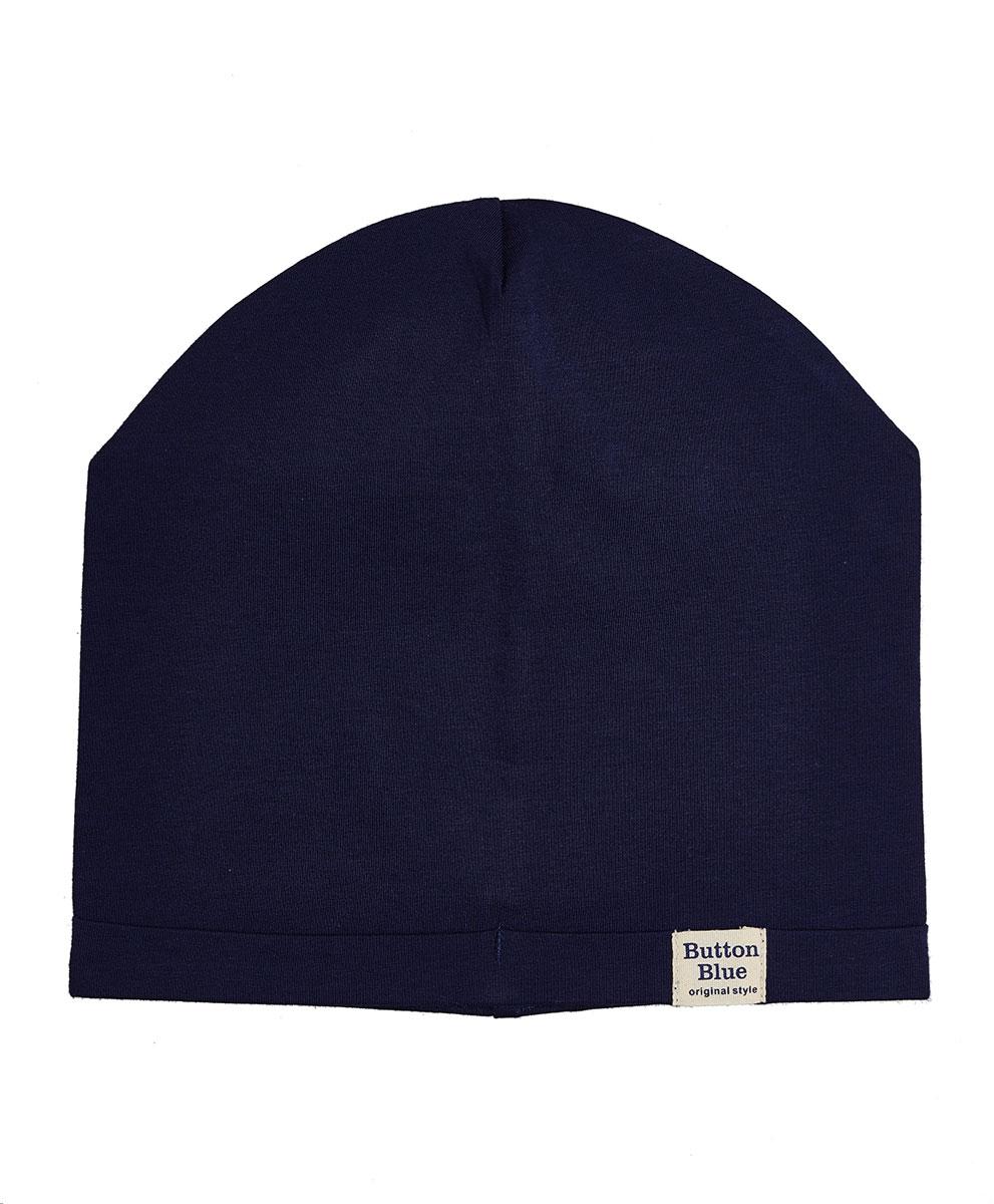 Шапка для мальчика Button Blue, цвет: темно-синий. 118BBBX73011000. Размер 52 блокфлейту недорого в кумертау