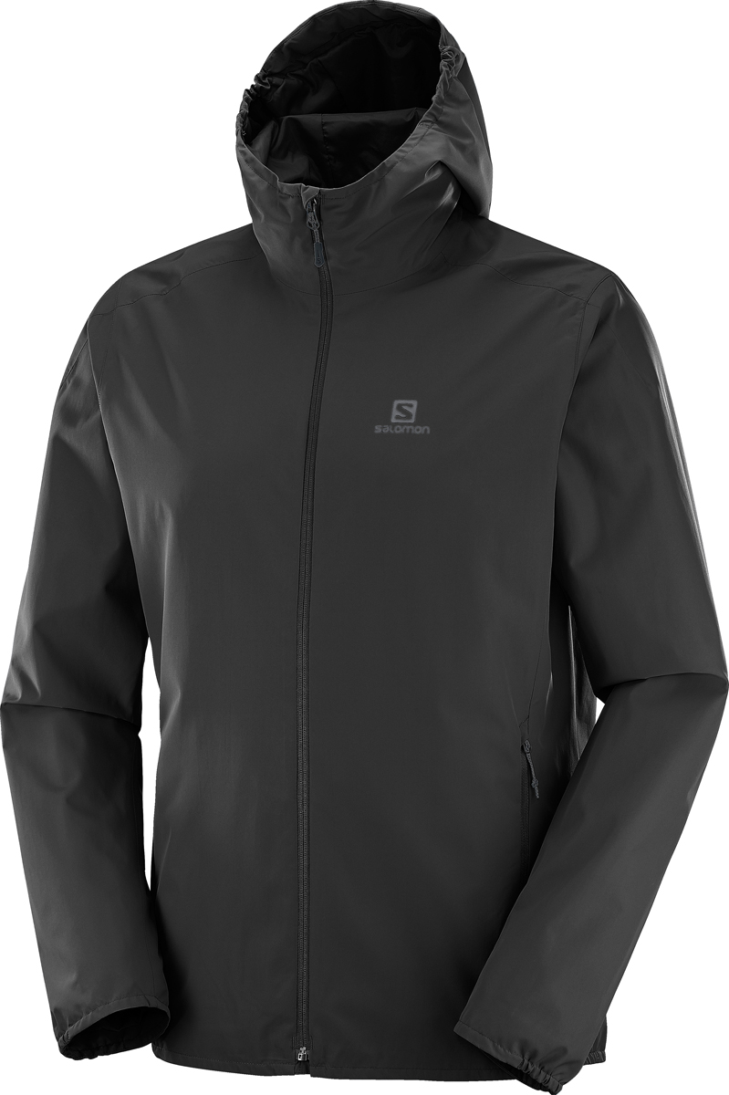 Куртка мужская Salomon Essential JKT M, цвет: черный. L39385000. Размер XXL (54) куртки