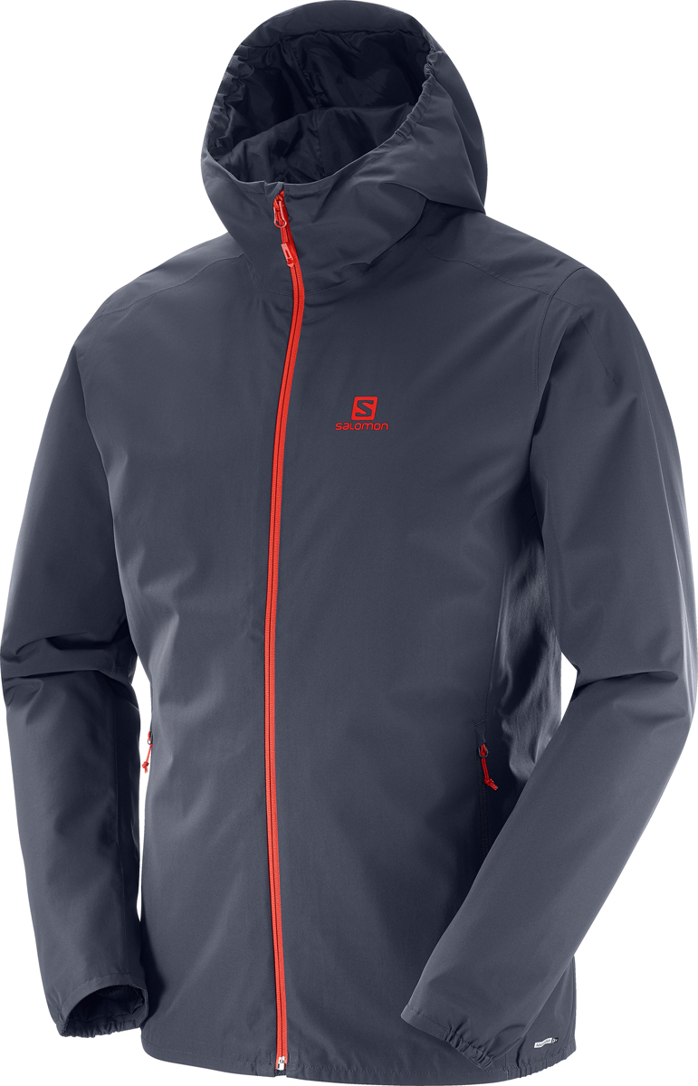 Куртка мужская Salomon Essential JKT M, цвет: серый. L40077200. Размер M (48)L40077200