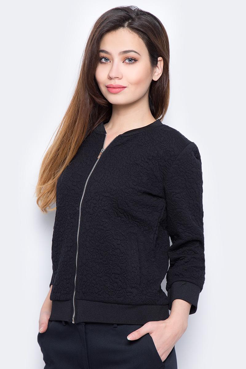 Толстовка женская Sela, цвет: черный. JTk-316/453-8111. Размер L (48) цена 2017
