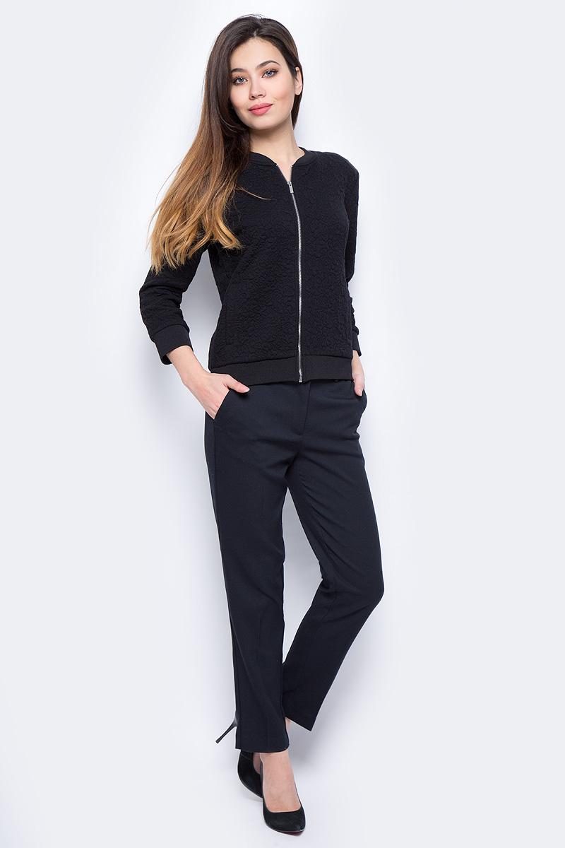 Жакет женский Sela, цвет: черный. JTk-316/453-8111. Размер XL (50)JTk-316/453-8111