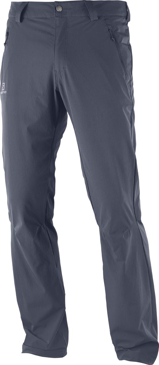 Брюки мужские Salomon Wayfarer Lt Pant M, цвет: серый. L40218500. Размер 52-32 (54-32)L40218500