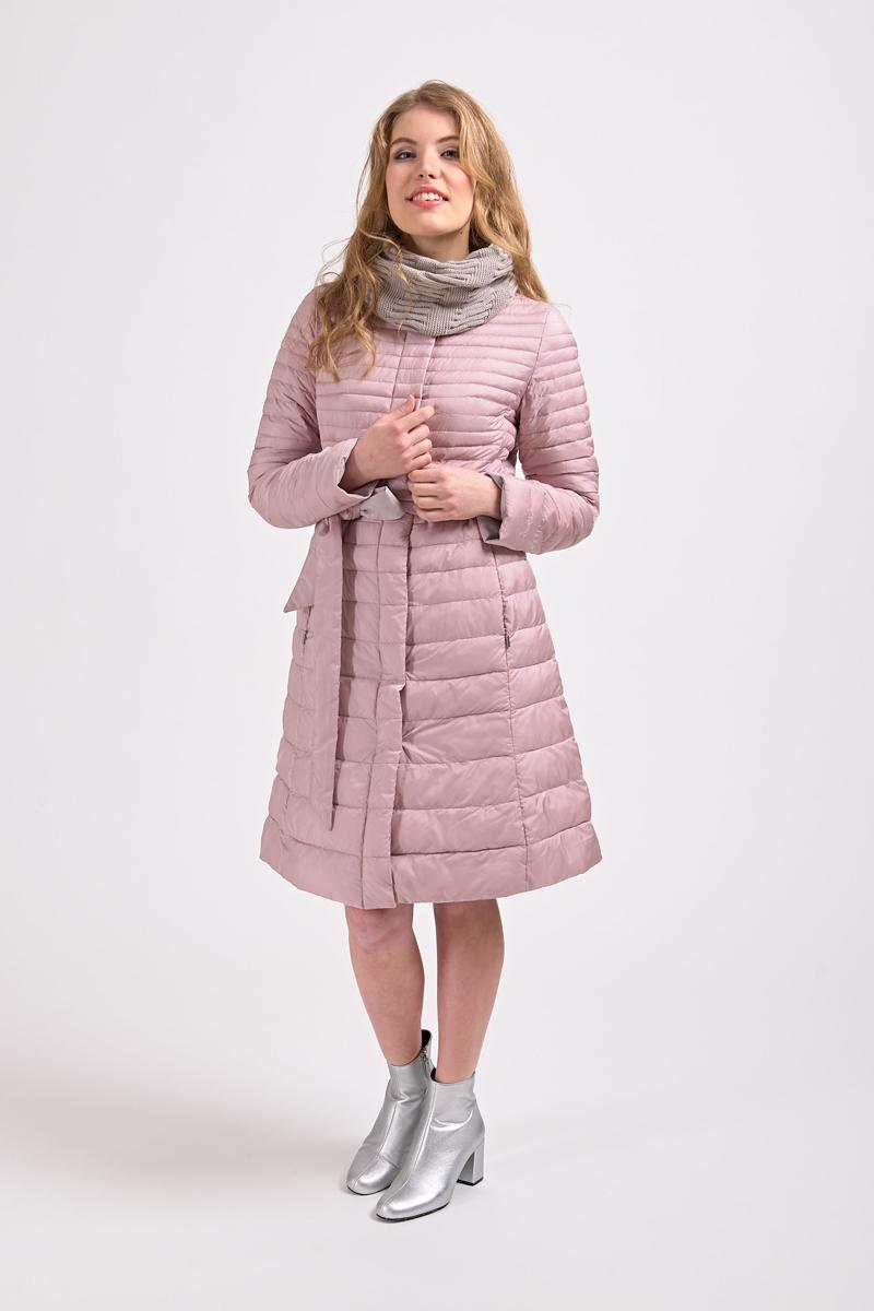 Куртка женская Elfina, цвет: розовый. 18008_D15. Размер 4418008_D15