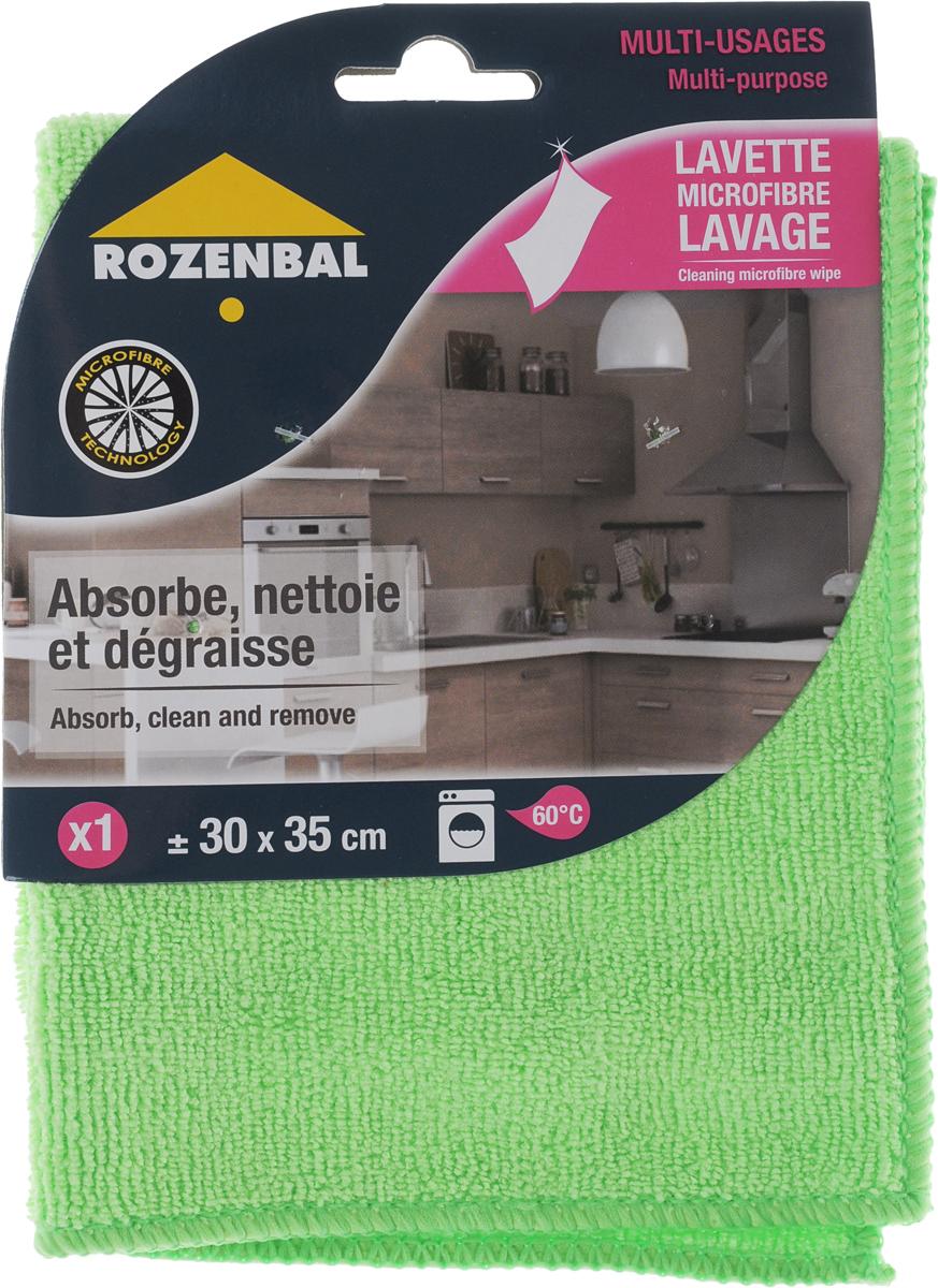 """Салфетка """"Rozenbal"""", многофункциональная, цвет: зеленый, 30 х 35 см R212761_зеленый"""