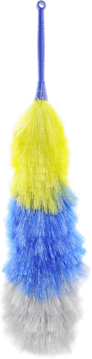 Собиратель пыли Rozenbal, антистатик, цвет: синий, желтыйR510591_синий, желтыйСобиратель пыли Rozenbal с антистатиком станет незаменимым помощником в уборке для каждой хозяйки. Изделие выполнено из пластика и синтетического волокна.