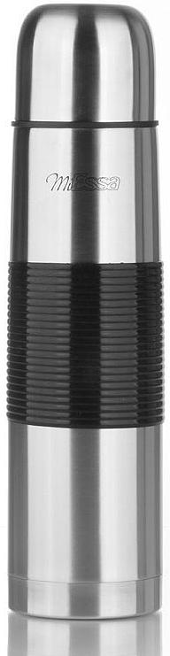 Термос MiEssa Охота, 1 л. ME1000ME1000Термос MiEssa Охота изготовлен из нержавеющей стали и пластика. В этом термосе применена система высококачественной вакуумной изоляции. Термос помогает сохранить температуру в течение 12 часов для горячих напитков и 24 часов для холодных.Особенностью термоса является наличие герметичной разборной пробки-стопора клапанного типа для удобного наливания напитков.
