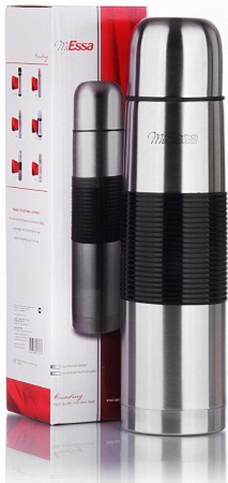 Термос MiEssa Aqua, 2 л. ME5102ME5102Термос изготовлен из нержавеющей стали и пластика. В этом термосе применена система высококачественной вакуумной изоляции. Термос помогает сохранить температуру в течение 12 часов для горячих напитков и 24 часов для холодных.Особенностью термоса является наличие герметичной разборной пробки-стопора клапанного типа для удобного наливания напитков.
