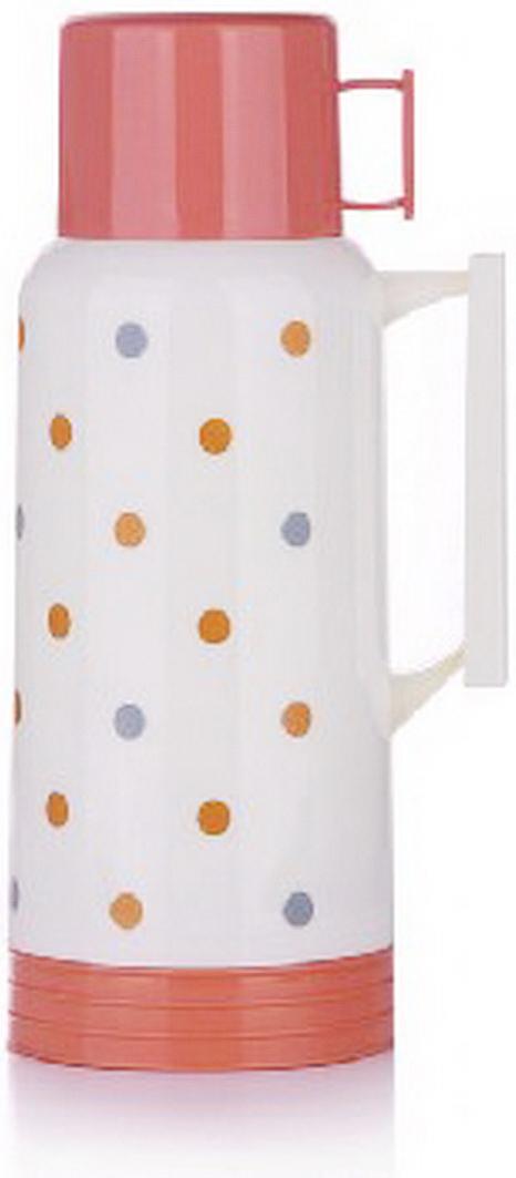 Термос MiEssa Aqua, цвет: белый, оранжевый, розовый, 1,8 л. MER180D1MER180D1Термос MiEssa Aqua изготовлен из нержавеющей стали и пластика. В этом термосе применена система высококачественной вакуумной изоляции. Термос помогает сохранить температуру в течение 12 часов для горячих напитков и 24 часов для холодных.Особенностью термоса является наличие герметичной разборной пробки-стопора клапанного типа для удобного наливания напитков.