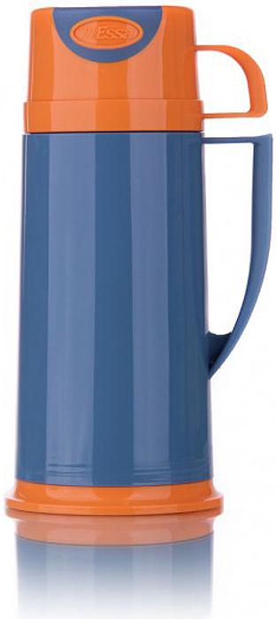 Термос изготовлен из нержавеющей стали и пластика. В этом термосе применена система высококачественной вакуумной изоляции. Термос помогает сохранить температуру в течение 12 часов для горячих напитков и 24 часов для холодных.  Особенностью термоса является наличие герметичной разборной пробки-стопора клапанного типа для удобного наливания напитков.