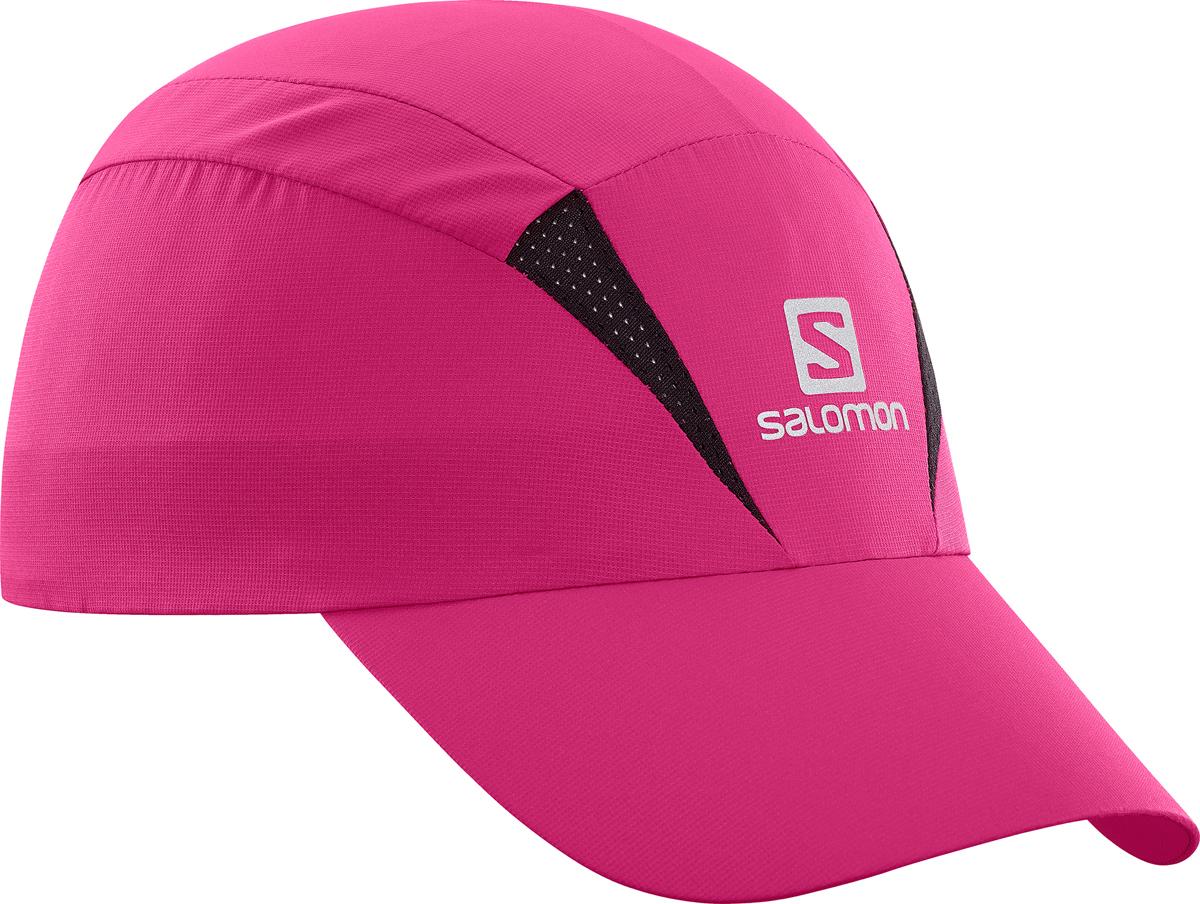 Бейсболка Salomon Cap Xa, цвет: розовый. L40044400. Размер S/M (54)L40044400Бейсболка Salomon является отличным аксессуаром для занятий спортом. Удобная и практичная, она обеспечит вам надежную защиту от неблагоприятных погодных условий. Новый силуэт, легкая быстросохнущая бейсболка позволяет чувствовать комфорт во время бега. Дополнительная вентиляция для жарких условий. Солнцезащитный материал с фактором UPF 50.