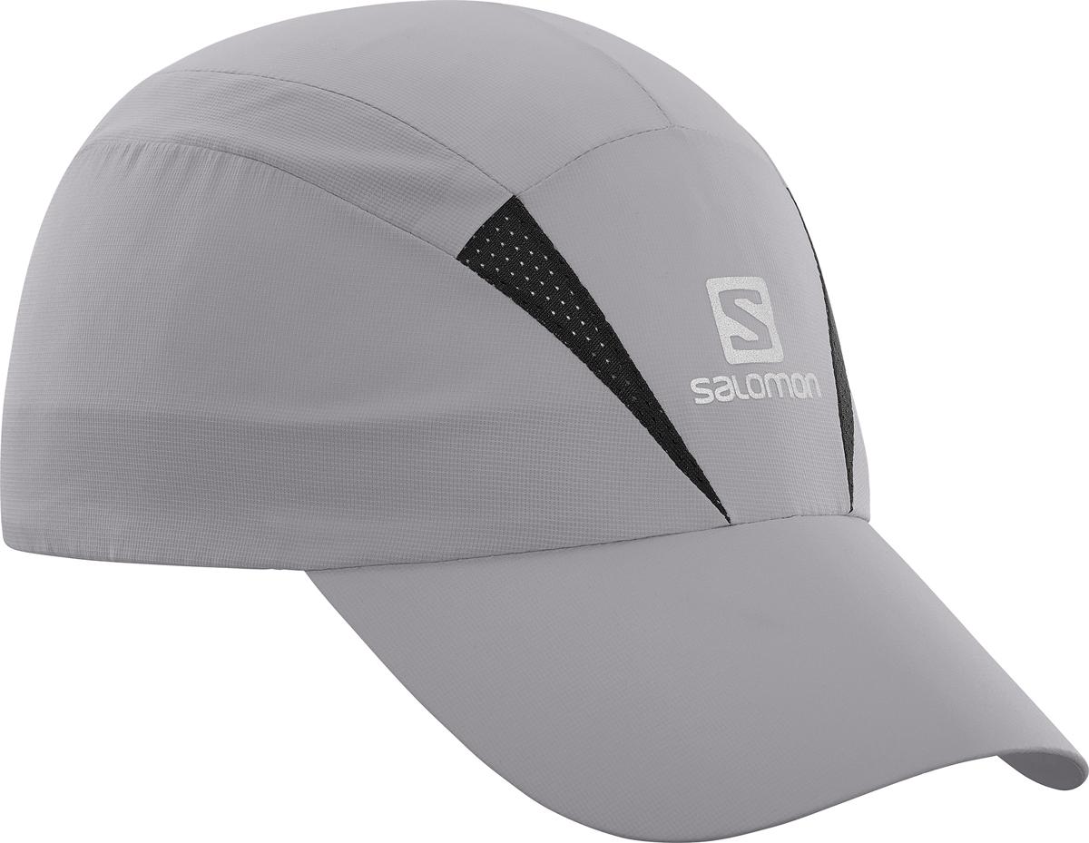 Бейсболка Salomon Cap Xa, цвет: серый. L40044700. Размер S/M (54)L40044700Бейсболка Salomon является отличным аксессуаром для занятий спортом. Удобная и практичная, она обеспечит вам надежную защиту от неблагоприятных погодных условий. Новый силуэт, легкая быстросохнущая бейсболка позволяет чувствовать комфорт во время бега. Дополнительная вентиляция для жарких условий. Солнцезащитный материал с фактором UPF 50.