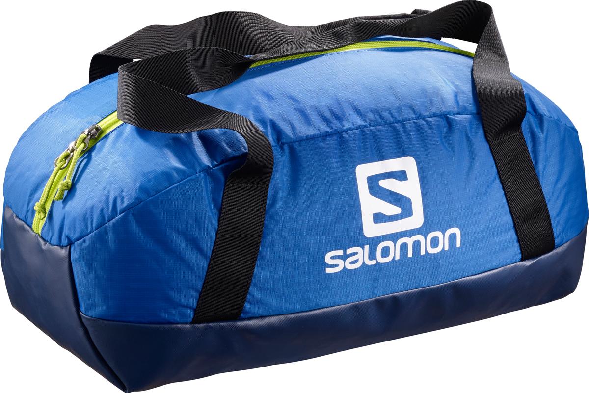 Сумка спортивная Salomon Prolog 25, цвет: синий, 25 лL39751900Если ваш спорт - это бег по мокрым камням, то эта спортивная сумка идеально подойдет вам. Небольшая сумка Prolog 25 объемом 25 л удобна в переноске, а прочное непромокаемое дно надежно защитит вещи, куда бы вы ее не поставили. Прочность.Дно сделано из сверхпрочного непромокаемого материала, поэтому ее можно ставить даже в лужу. Удобство.Сумка удобна для ежедневного использования и в коротких походах благодаря удобной системе переноски и двум внутренним карманам в основном отделении.Защита.Непромокаемая конструкция, износостойкие материалы и усиленные ручки: с Prolog ваше снаряжение будет в полной безопасности. Особенности:-регулируемые плечевые ручки,-1 основное отделение,-2 внутренних кармана,-непромокаемая конструкция,-не содержит ПВХ,-нейлоновая ткань тройной рипстоп 210D, водостойкость в мм,-gолиэстер 600D Neocoating, водостойкость 2000 мм.