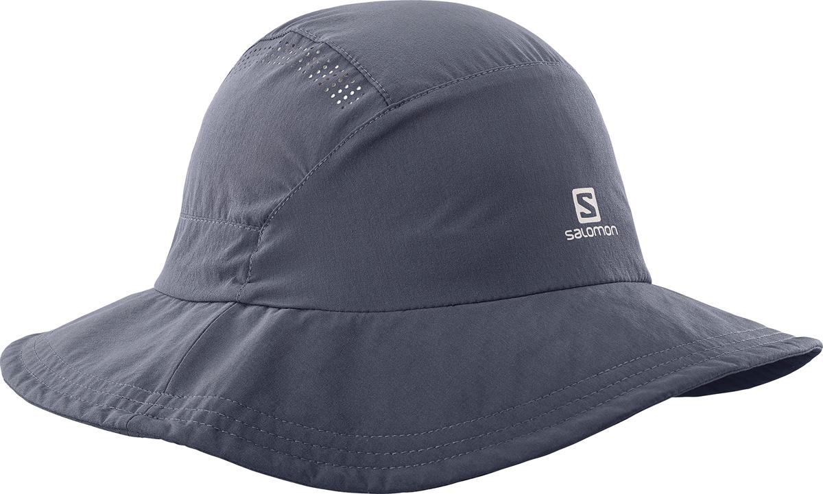 Панама Salomon Mountain Hat, цвет: серый. L40046000. Размер универсальныйL40046000Для искателей приключений, которые идут по жизни легко.Возьмите курс на жизнь, полную приключений, с панамой Mountain Hat. Она изготовлена из современного технологичного материала Softeshell. Она защищает от солнца и дождя и компактно складывается. Эта вещь никогда не выходит из моды.