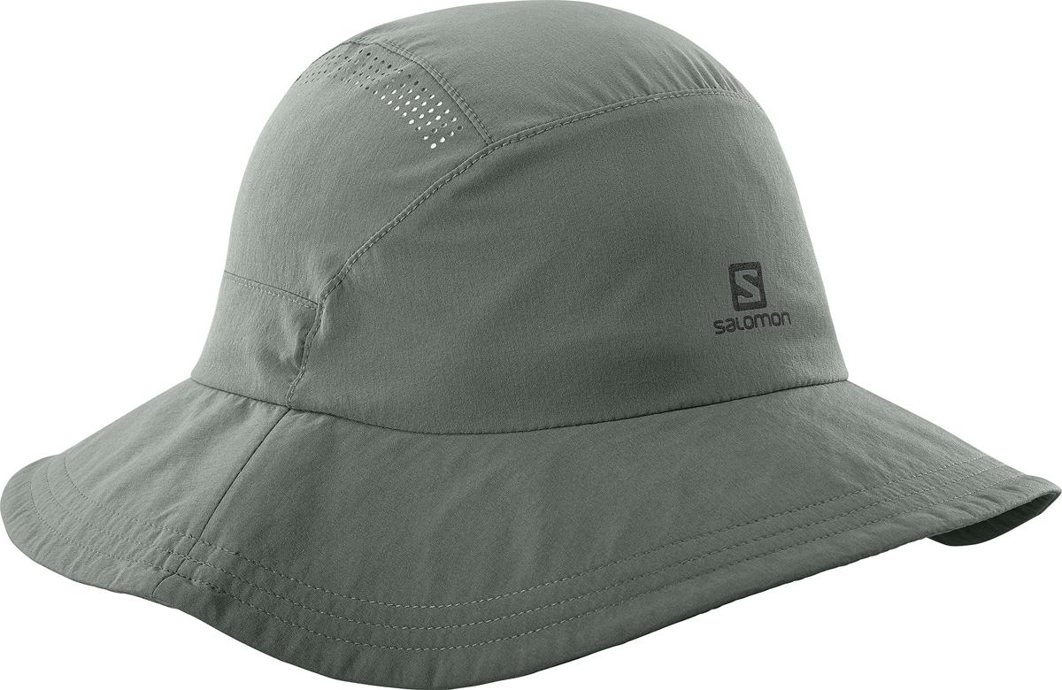 Панама Salomon Mountain Hat, цвет: серый. L40046200. Размер универсальныйL40046200Для искателей приключений, которые идут по жизни легко. Возьмите курс на жизнь, полную приключений, с панамой Mountain Hat. Она изготовлена из современного технологичного материала Softeshell. Она защищает от солнца и дождя и компактно складывается. Эта вещь никогда не выходит из моды.