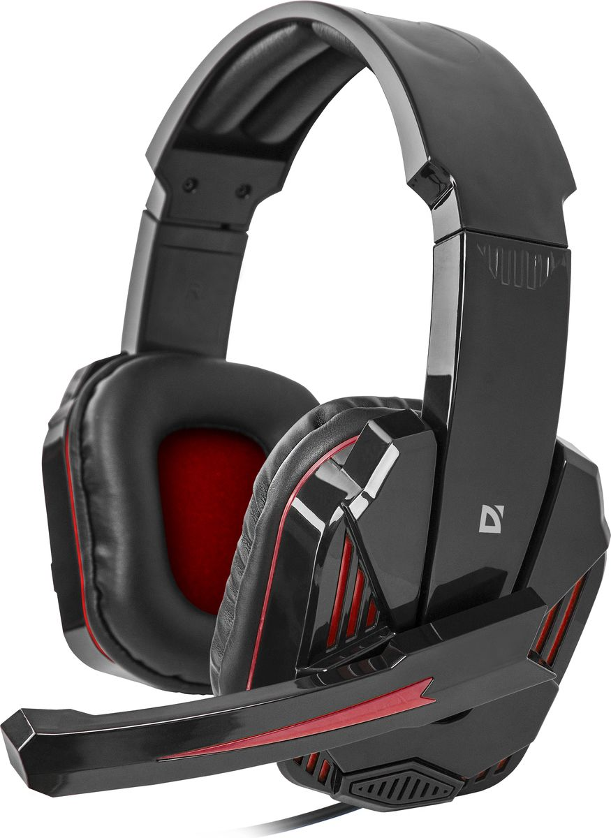 Defender Warhead G-260, Black Red игровая гарнитура64121;64121Defender Warhead G-260 - игровая гарнитура с удобными амбушюрами и высокочувствительным микрофоном.Наушники выполнены в черной расцветке с оригинальными красными акцентами. Модель имеет формат звуковойсхемы 2.0 и идеально подходит для долгих игровых сессий. Также наушники имеют широкое регулируемое оголовье.Закрытое акустическое оформление комбинируется с динамическими излучателями диаметром 40 мм. Модельимеет стандартный частотный диапазон (20–20000 Гц) и импеданс в 32 Ом. Игровая модель дополнена микрофономс подвижной фиксацией и чувствительностью -54 дБ.