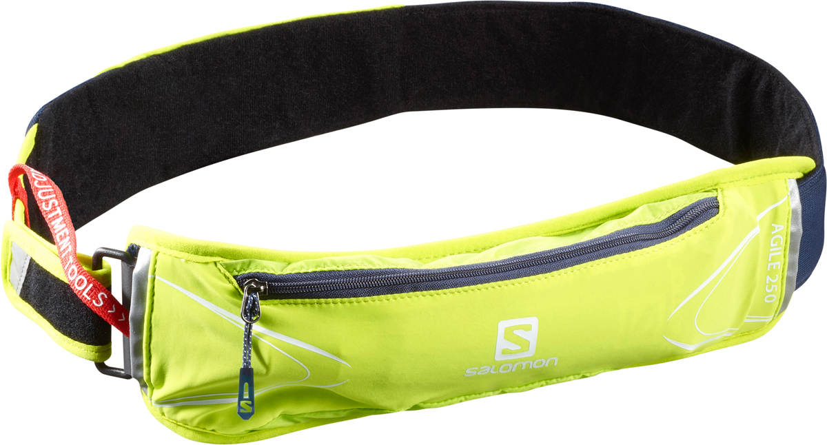 "Сумка на пояс Salomon ""Agile 250 Belt Set"", цвет: зеленый. L40132200"