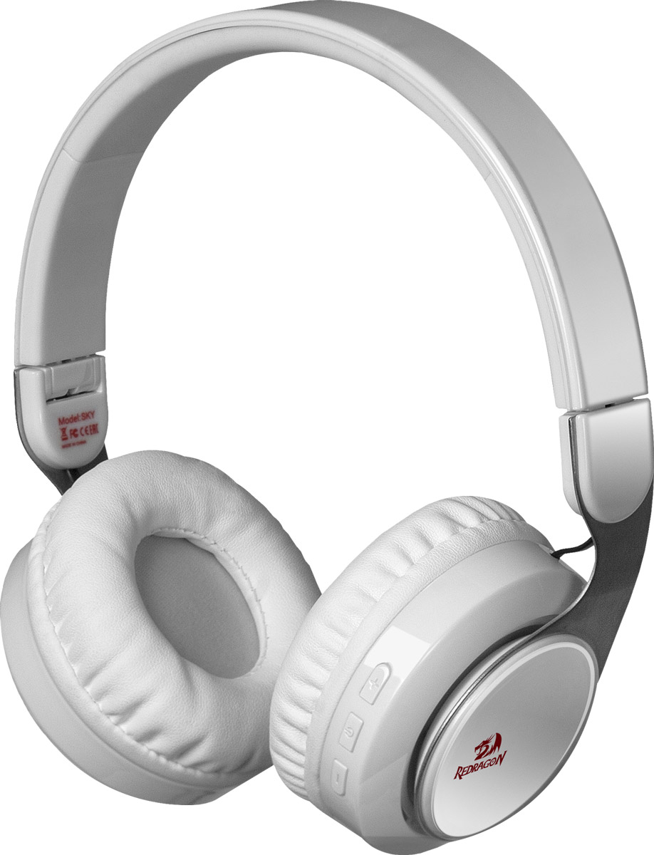 Redragon Sky W, White Bluetooth-гарнитура