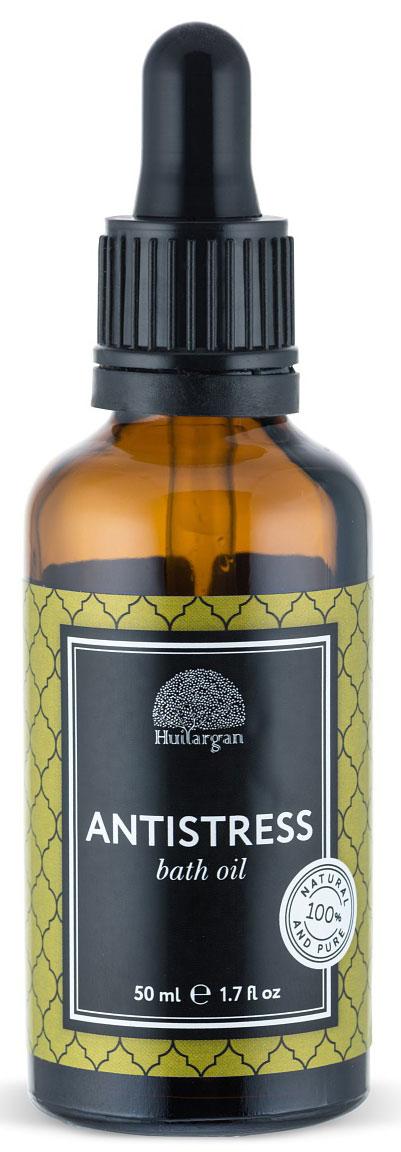 Huilargan Масло для ванны, антистресс, 50 мл110256881Масло для ванны АнтистрессПеред вами уникальный продукт, созданный для того, чтобы принятие ванны стало не только приятной процедурой, но и полезной. Состав масла для ванны бережно разработан нашими специалистами и несет в себе все полезные свойства масла арганы, миндаля и эфирных масел. Масло Арганы питает, заживляет и регенерирует кожу, масло миндаля тонизирует и увлажняет, наполняя кожу сиянием, а композиция высококачественных эфиров работает по принципу аромотерапии. Масло не растворяется полностью в воде, оставляя на теле защитную пленку, которая полезна для кожи, не оставляя следов жирности. С любовью подобранная композиция эфирных масел является шикарной аромотерапией и создана для того, чтобы снять стресс и расслабить Вас.Ладан, лимон, валерьяна – отлично успокаивают, снимают стресс, позволяя почувствовать гармонию и ощутить внутренний баланс. Уважаемые клиенты!Обращаем ваше внимание на возможные изменения в дизайне упаковки. Качественные характеристики товара остаются неизменными. Поставка осуществляется в зависимости от наличия на складе.