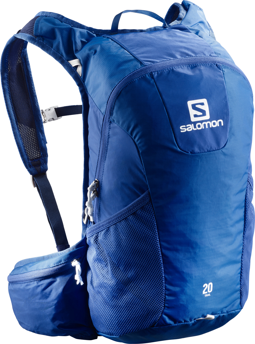Рюкзак спортивный Salomon Bag Trail 20, цвет: синий. L40133900 рюкзаки salomon рюкзак bag trail 20 black