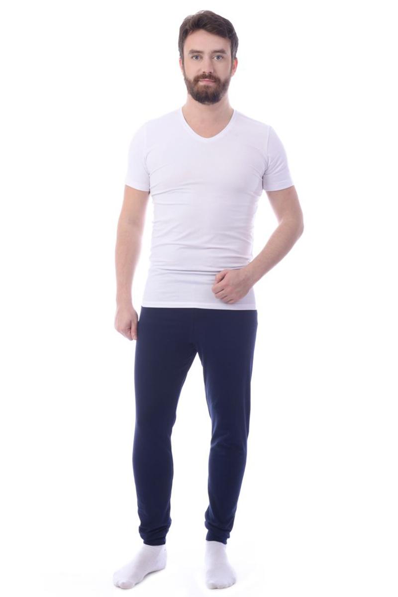 Футболка для дома мужская Melado База, цвет: белый. ML2493/01. Размер 54 платья melado платье камея