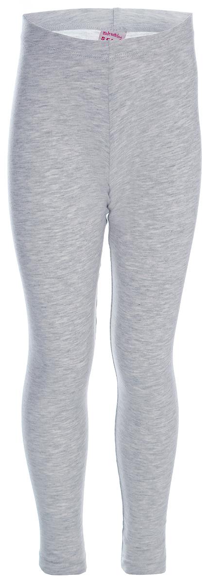 Брюки для девочек Sela, цвет: светло-серый. PLG-515/513-8121. Размер 116 брюки sela брюки
