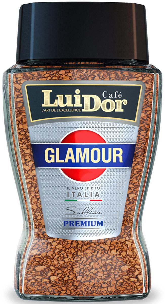 Luidor Glamour кофе растворимый сублимированный, 95 г кофе черный парус сублимированный 85г