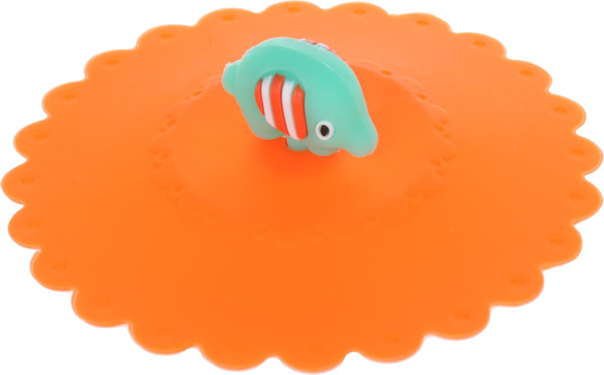 Крышка Доляна Слон, цвет: оранжевый, диаметр 11 см1057105_оранжевыйКрышка Доляна Слон станет незаменимым помощником любой современной хозяйки!Она выполнена из безопасного пищевого силикона, устойчивого к температурам от -40 до +250 градусов. Изделие не впитывает посторонние запахи, удобно в транспортировке и хранении.Яркие цвета и необычная форма ручки привлекут внимание любого посетителя вашей кухни, а вам поможет не потерять крышку среди остальной посуды.Диаметр крышки: 11 см.