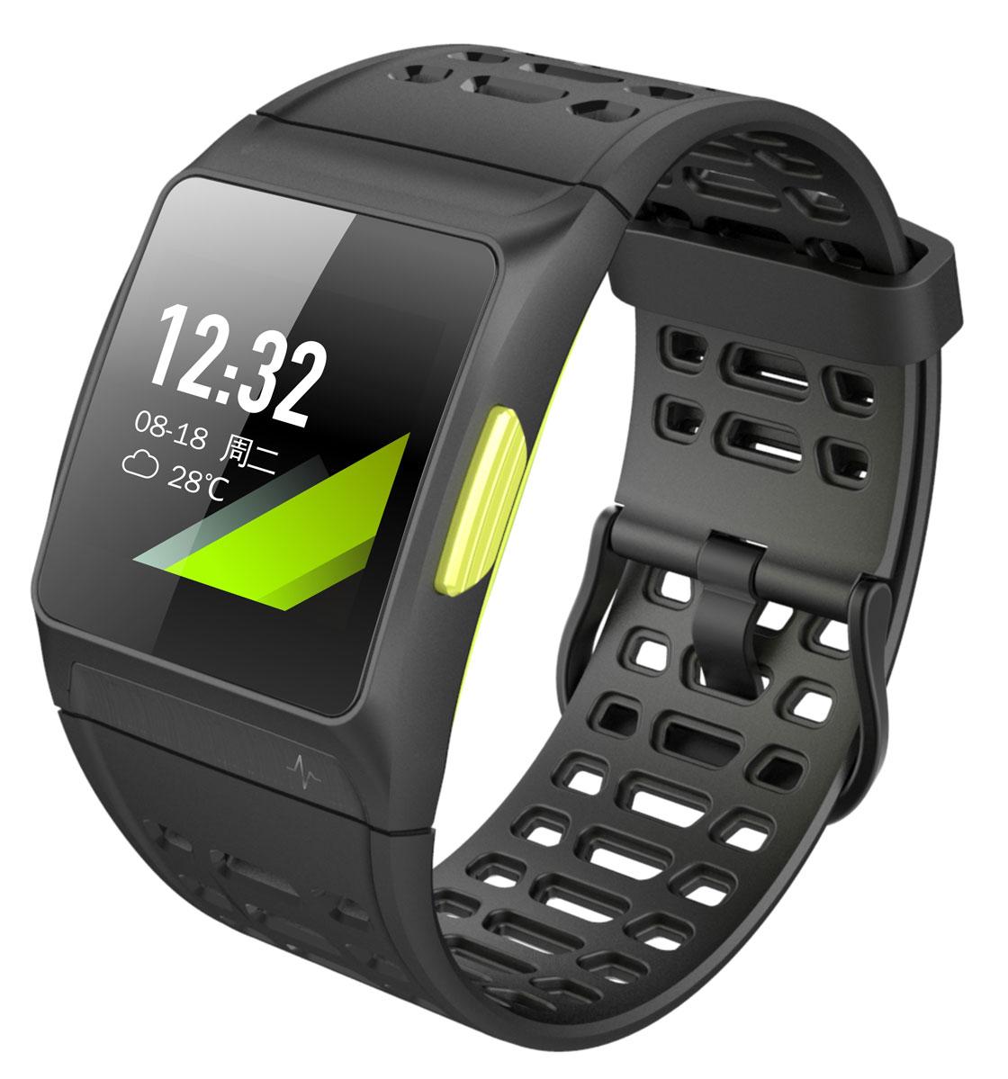 iWOWN P1, Black умные часыP1Умные часы iWOWN P1 - прекрасный выбор для влюбленных в спорт, энергичных людей. Многофункциональность часов позволяет наслаждаться занятиями спортом, а так же всегда оставаться на связи с родными и близкими. Часы оснащены цветным сенсорным экраном с высоким разрешением. Управление также осуществляется с помощью встроенных кнопок. Автоматическое распознавание видов тренировок упрощает работу с часами, нет необходимости в долгой настройке. Со встроенным GPS датчиком Вы не собьетесь с пути, часы передают всю информацию о маршруте, пройденном расстоянии, количестве шагов и сожженных калориях на приложение, установленное на смартфоне. Таким образом, Вы всегда можете просмотреть, где проходил Ваш маршрут и насколько эффективная была тренировка. Круглосуточный мониторинг пульса позволяет следить за показателями здоровья и поддерживать организм в оптимальном состоянии. Часы iWOWN P1 - отличный вариант для Вас и Вашего здоровья!