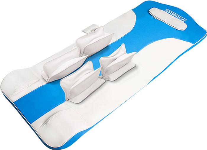 US Medica Массажный матрас Ocean PRO, цвет: синий массажный стол us medica osaka