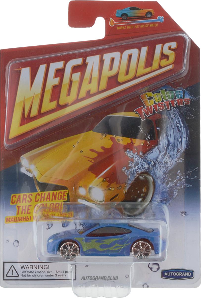 Autotime Машинка Color Twisters цвет синий модель автомобиля color twisters water chameleon racing autotime