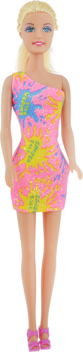 Defa Toys Кукла Lucy цвет платья розовый желтый defa toys кукла lucy happy wedding цвет платья розовый