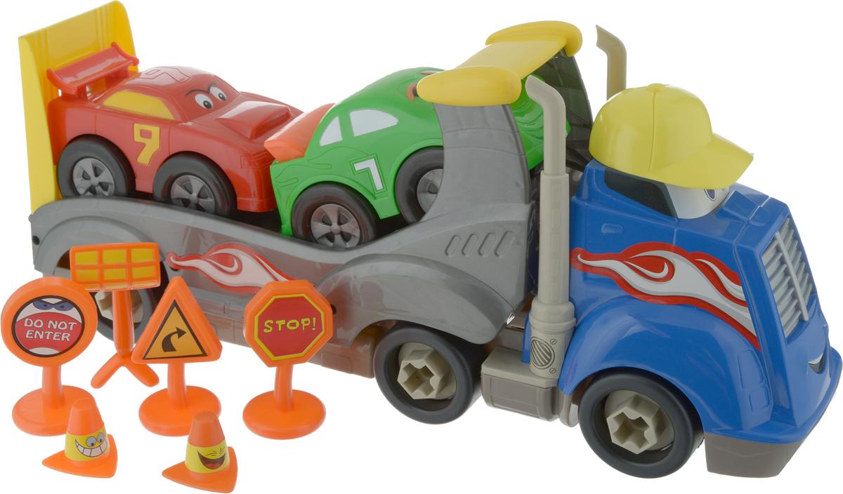 Boley Игровой набор Автовоз Смелый гонщик