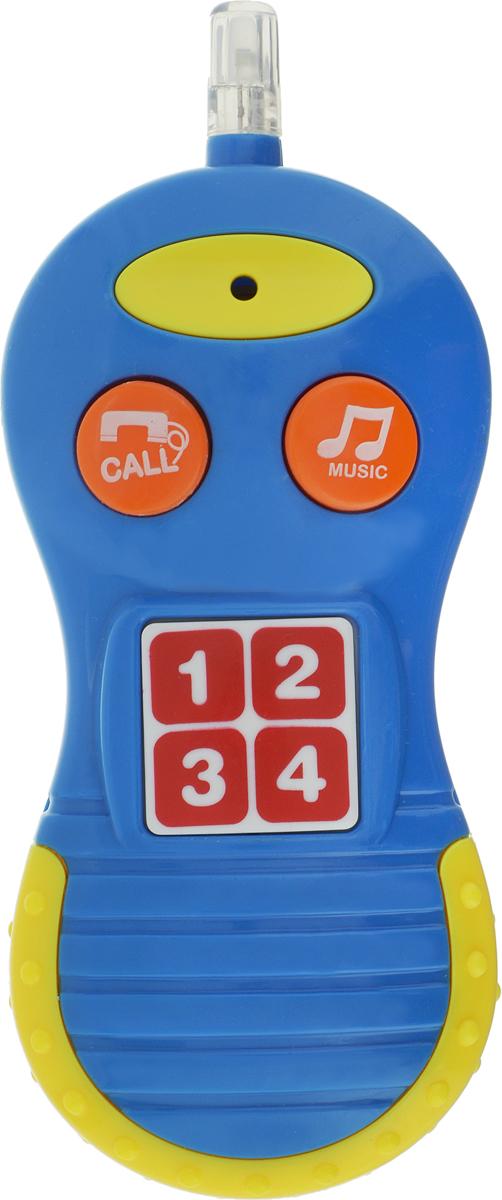Bampi Электронная игрушка Телефон цвет синий, желтый