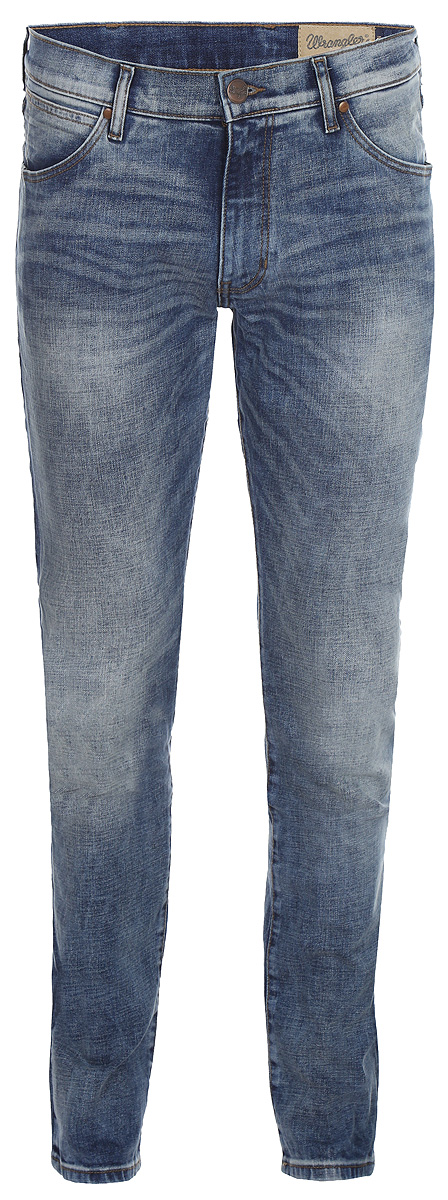 Купить Джинсы мужские Wrangler Larston, цвет: синий. W18SMK88Y. Размер 30-32 (46-32)