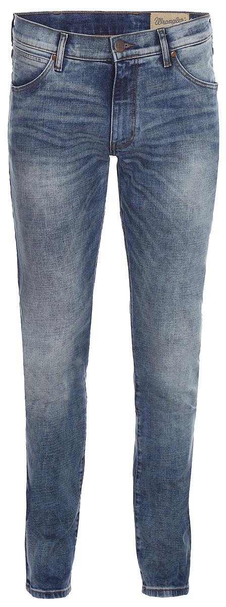Джинсы мужские Wrangler Larston, цвет: синий. W18SMK88Y. Размер 32-34 (48-34)W18SMK88Y