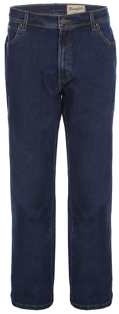 Джинсы мужские Wrangler, цвет: синий. W1213300932. Размер: 38-32(54-32) ботинки wrangler wrangler wr224amlir98