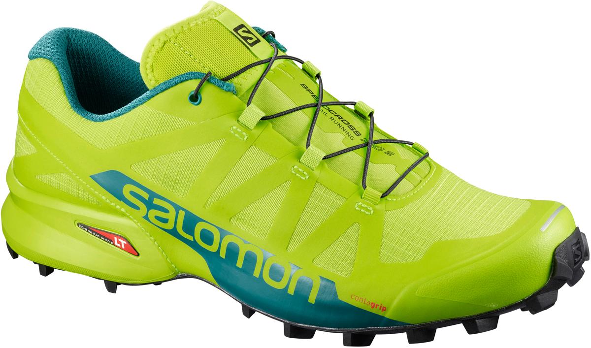 Кроссовки для бега мужские Salomon Speedcross Pro 2, цвет: зеленый. L40070200. Размер 10,5 (44) rosenberg r 519