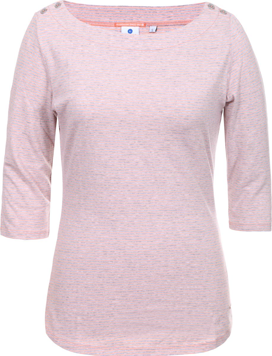 Лонгслив женский Luhta, цвет: персиковый. 939298384LV_445. Размер XL (48/50) лонгслив viaggio donna цвет белый