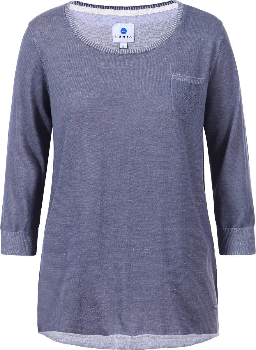 Джемпер женский Luhta, цвет: серый. 939304335LV_265. Размер M (44/46) женское платье ol s m l xl d0058