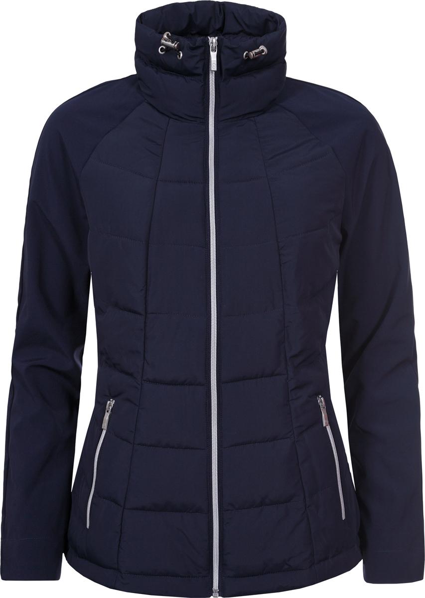 Куртка женская Luhta, цвет: темно-синий. 939464323LV_387. Размер 44 (50/52) куртка женская luhta цвет темно синий 838411535lv 390 размер 42 50
