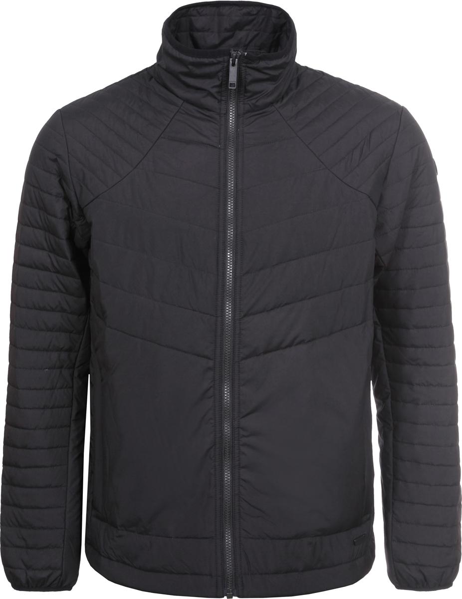 Куртка мужская Luhta, цвет: черный. 939524376LV_990. Размер 52939524376LV_990Мужская куртка Luhta выполнена из полиэстера с утеплителем из синтепона. Модель с воротником-стойкой застегивается на застежку-молнию. По бокам расположены прорезные карманы на застежках-молниях.
